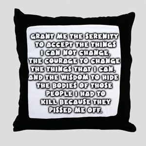 serenity 2 accept Throw Pillow