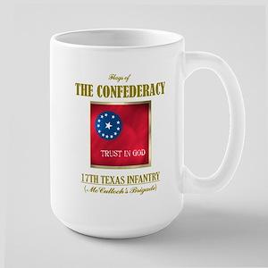 17th Texas Infantry Large Mug