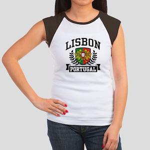 Lisbon Portugal Women's Cap Sleeve T-Shirt