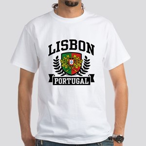 Lisbon Portugal White T-Shirt