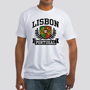Lisbon Portugal Fitted T-Shirt
