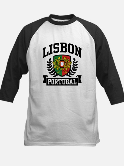 Lisbon Portugal Kids Baseball Jersey