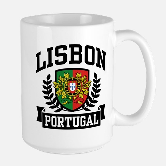 Lisbon Portugal Large Mug