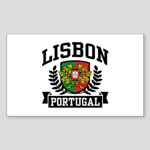 Lisbon Portugal Sticker (Rectangle)