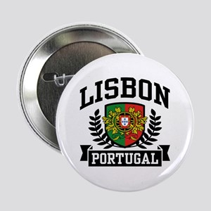 "Lisbon Portugal 2.25"" Button"