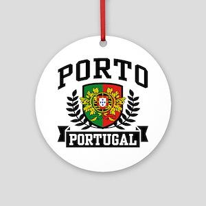 Porto Portugal Ornament (Round)