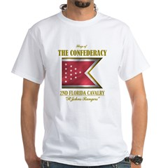 2nd Florida Cavalry White T-Shirt