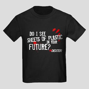 Bloody Sheets of Plastic Kids Dark T-Shirt