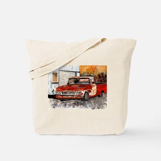 old pickup truck vintage anti Tote Bag