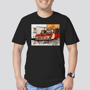 old pickup truck vintage anti Men's Fitted T-Shirt