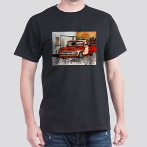 old pickup truck vintage anti Dark T-Shirt