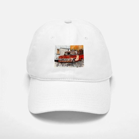 old pickup truck vintage anti Baseball Baseball Cap