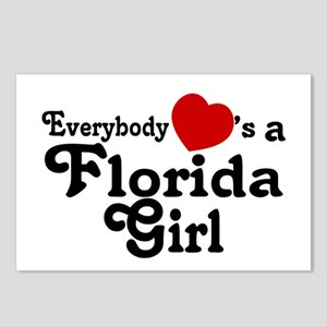 Everybody Hearts a FL Girl Postcards (Package of 8