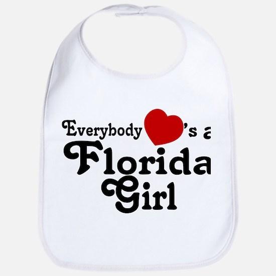 Everybody Hearts a FL Girl Bib