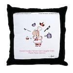 GOOD COOKS by April McCallum Throw Pillow