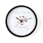 GOOD COOKS by April McCallum Wall Clock