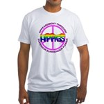 Anti Liberal Hippies Fitted T-Shirt