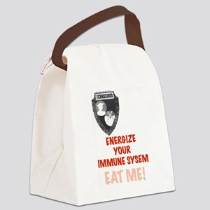 Energize Your Immune System Canvas Lunch Bag