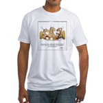 HEADCOUNT by April McCallum Fitted T-Shirt