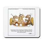 HEADCOUNT by April McCallum Mousepad