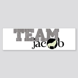 Team Jacob Howling Wolf Sticker (Bumper)