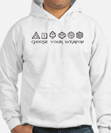 Choose Your Weapon Jumper Hoody
