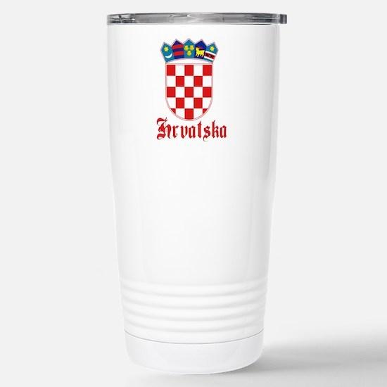Croatia Stainless Steel Travel Mug