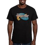 Shakin Shotgun Men's Fitted T-Shirt (dark)