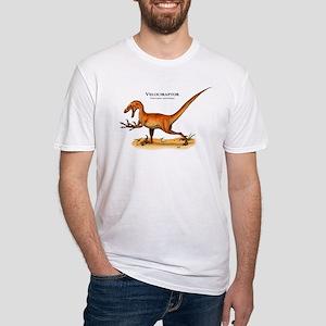 Velociraptor Fitted T-Shirt
