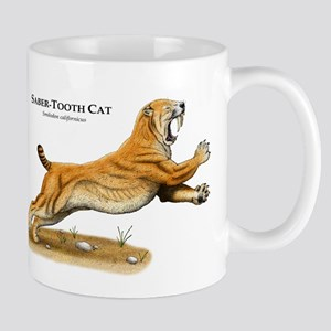 Saber-Tooth Cat Mug