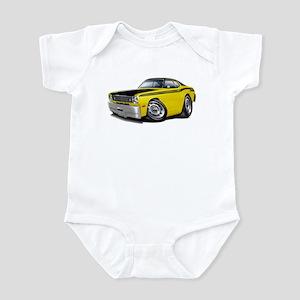 Duster 340 Yellow Car Infant Bodysuit