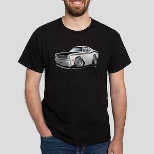 Duster 340 White Car Dark T-Shirt