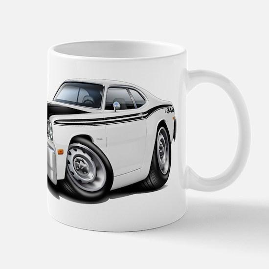 Duster 340 White Car Mug