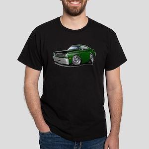 Duster 340 Green Car Dark T-Shirt
