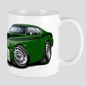 Duster 340 Green Car Mug