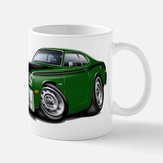 Duster 340 Green Car Mug