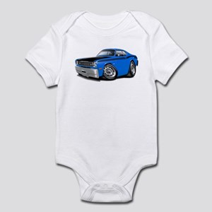 Duster 340 Blue Car Infant Bodysuit