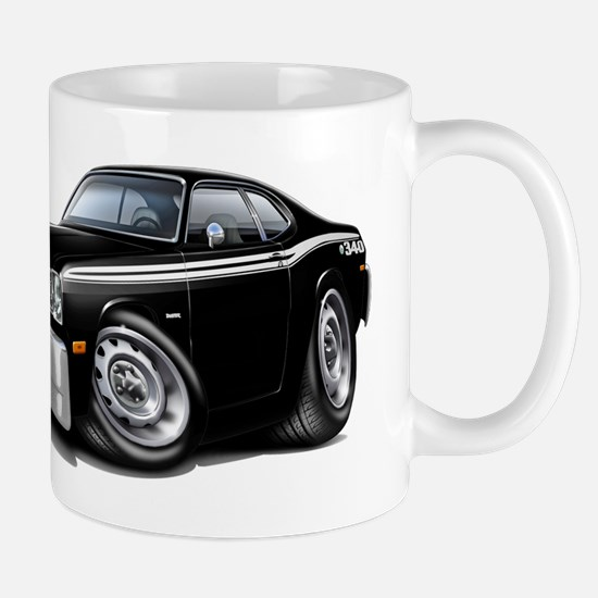 Duster 340 Black Car Mug