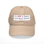 """""""Not A Hater"""" Tan Cap"""