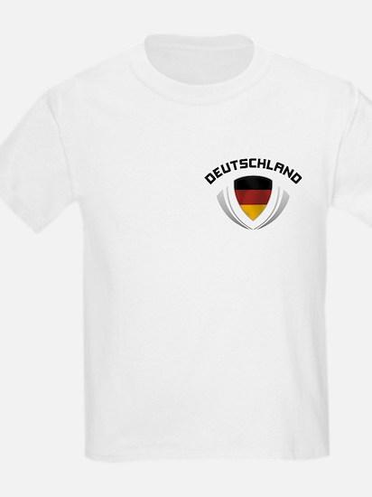Soccer Cest DEUTSCHLAND Pocket Size T-Shirt