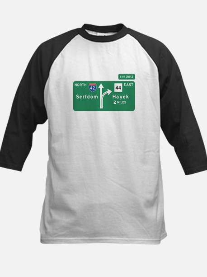 Road to Serfdom: Junction Kids Baseball Jersey