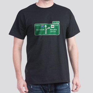 Road to Serfdom: Junction Dark T-Shirt