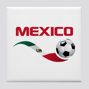 Soccer MEXICO Tile Coaster