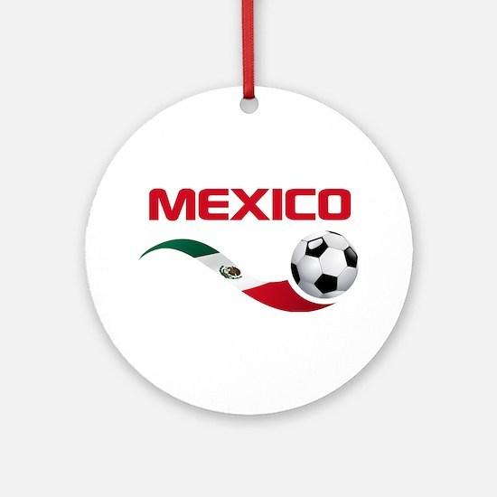 Soccer MEXICO Ornament (Round)