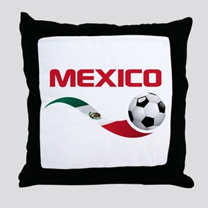 Soccer MEXICO Throw Pillow