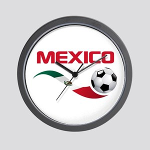 Soccer MEXICO Wall Clock