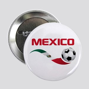 "Soccer MEXICO 2.25"" Button"