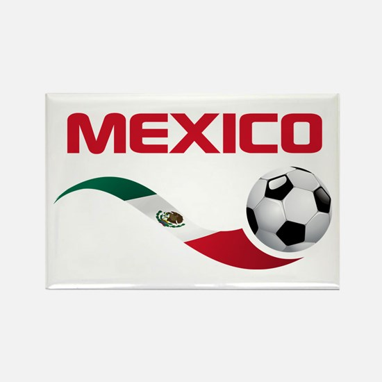 Soccer MEXICO Rectangle Magnet