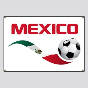Soccer MEXICO Banner