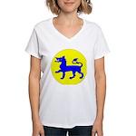 East Kingdom Populace Women's V-Neck T-Shirt